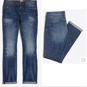 J.Crew Stretch Boyfriend Jeans